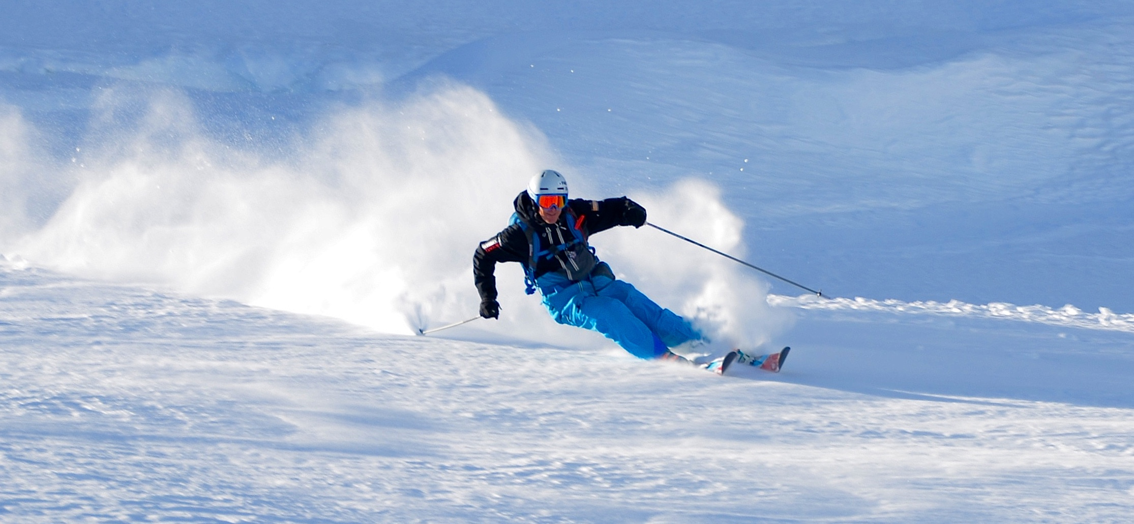all terrain ski courses