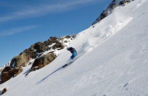 Advanced ski courses