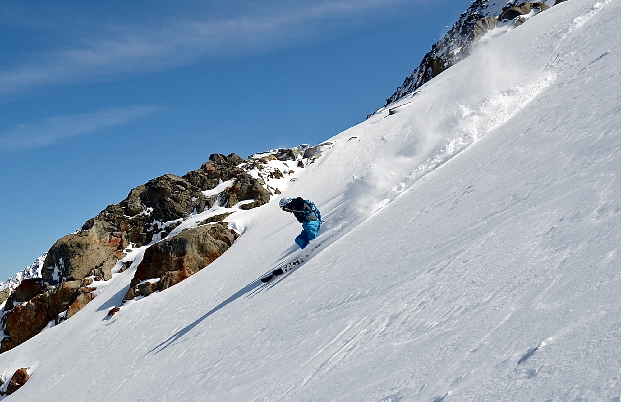 freeride ski courses