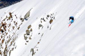 Expert ski courses