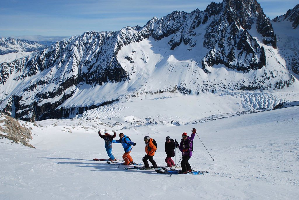 Learn to ski off piste