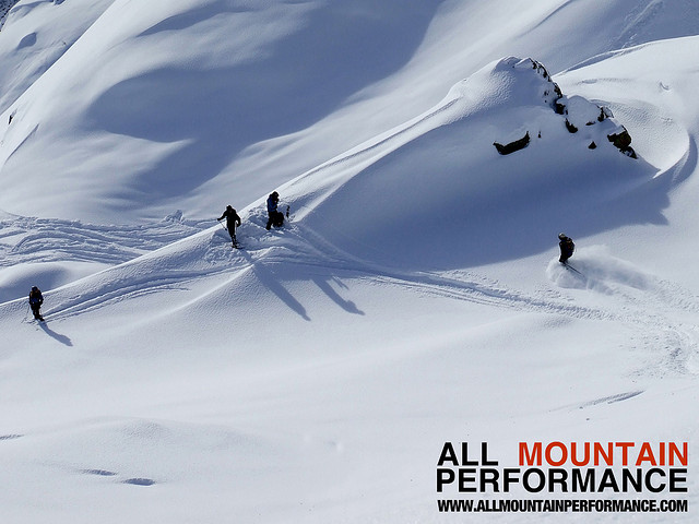 Off piste performance ski courses