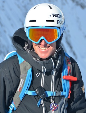 Online ski coach Mark Gear
