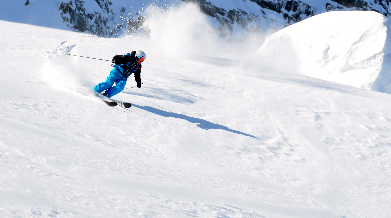 Freeride ski courses