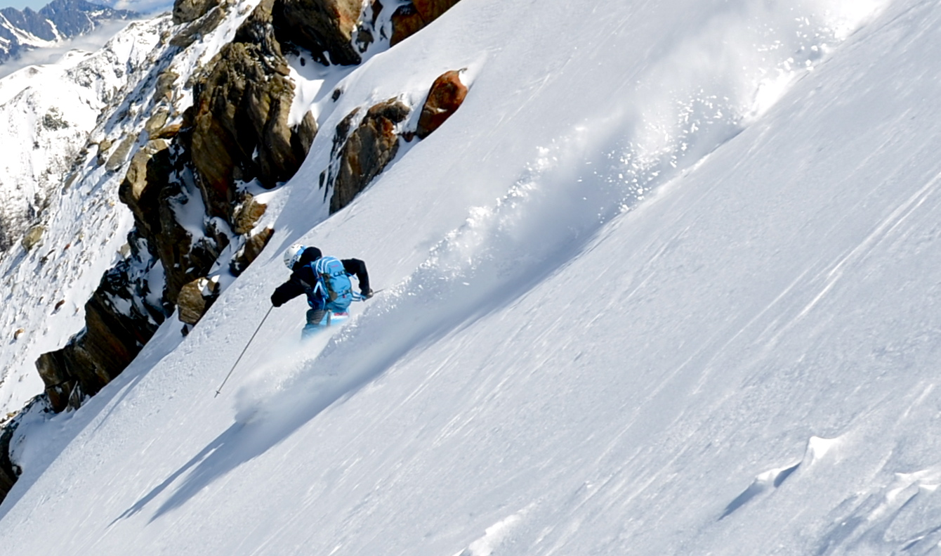 Expert off piste ski courses