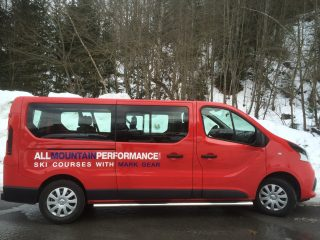 Minibus for the course